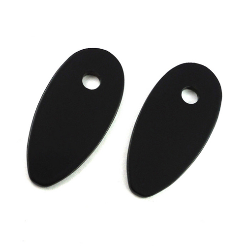 Black Strut Blank Off Plate with M6 Hole