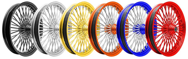 Ride Wright Wheel Colours